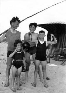 Maroc, vers 1938 - 1939, Retour de pêche