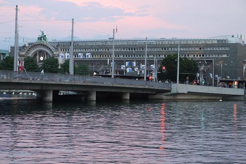 Sunset Over Lucerne Station