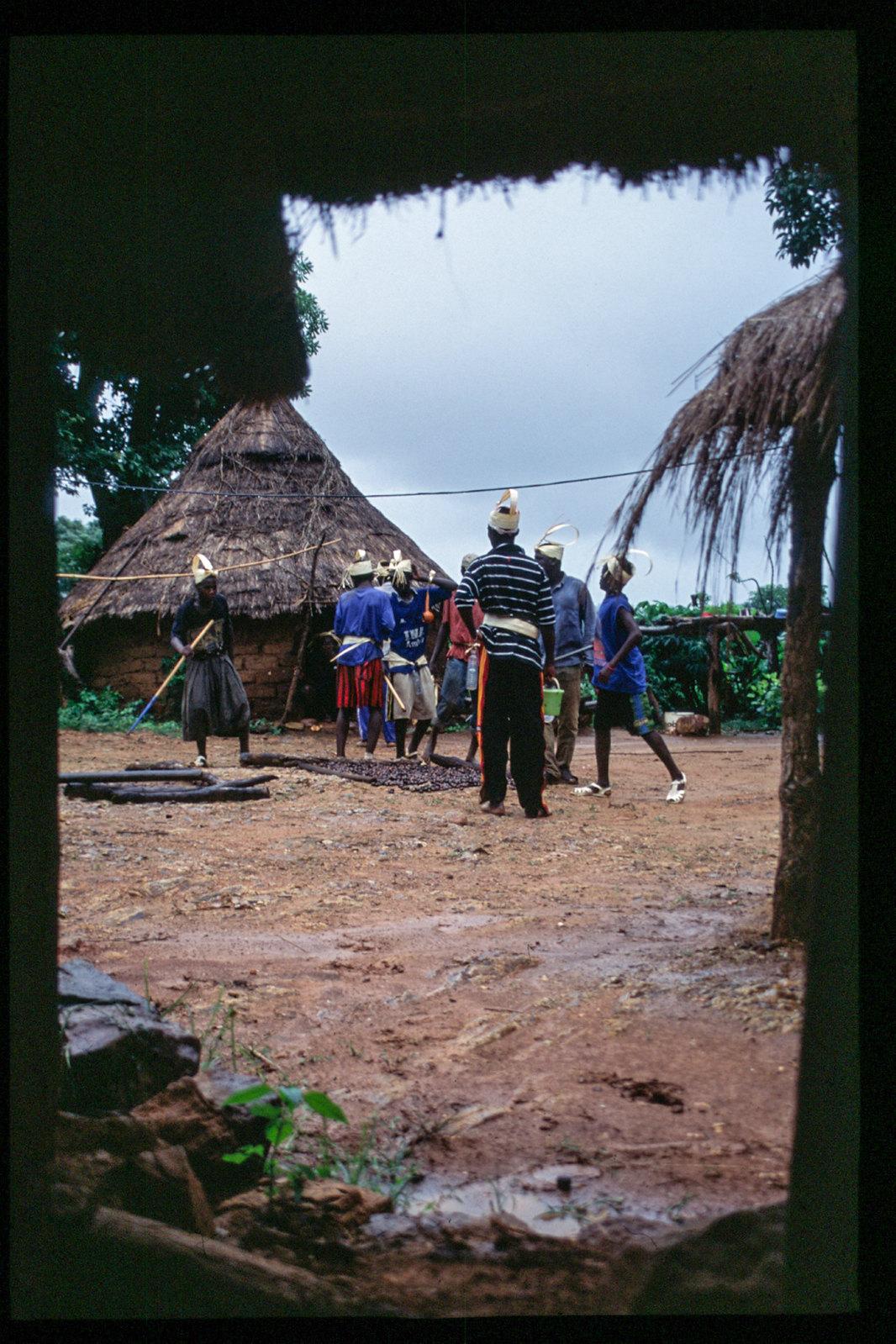 Senegal - Entre deux corvée, pause au campement