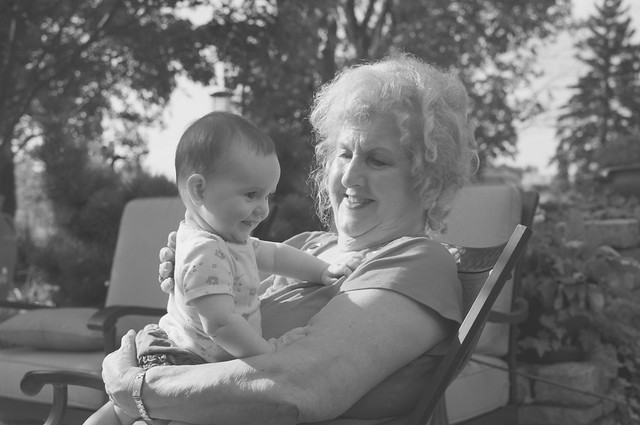 Grandma and her Great-Grandchild