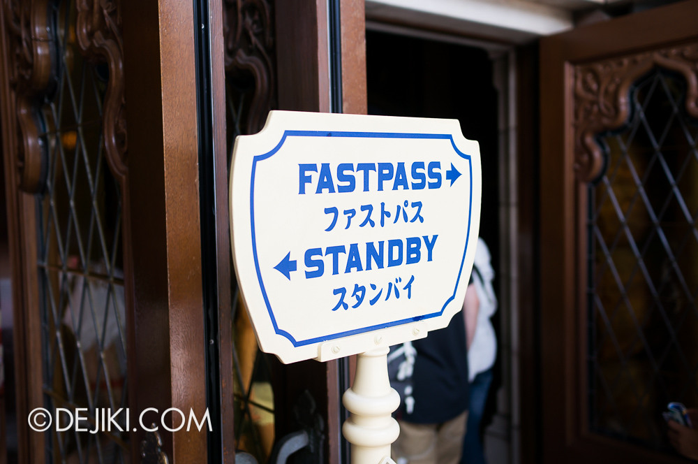 Tokyo DisneySea - Tower of Terror / Fastpass and Standby
