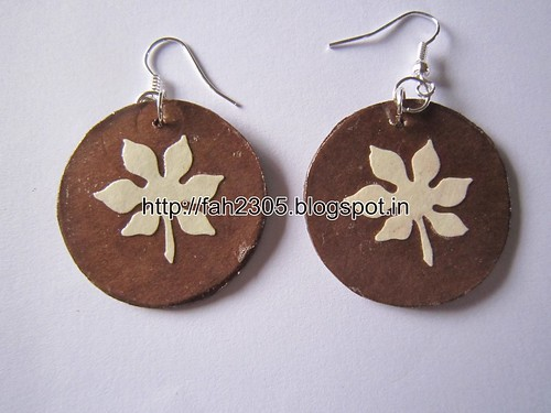 Handmade Jewelry - Paper Punch Earrings (3) by fah2305
