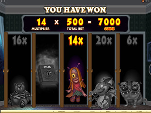 Monsters in the Closet Slot Bonus Pick