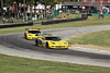 Corvettes race for position