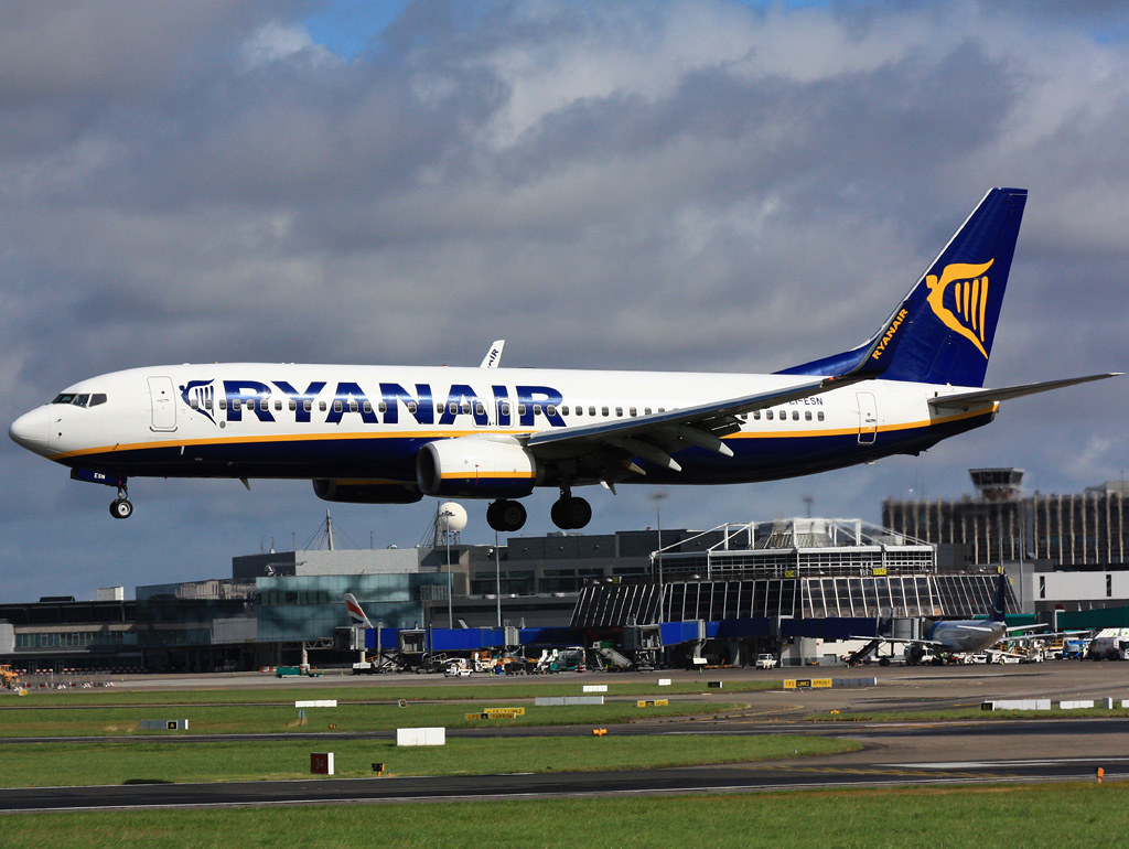 EI-ESN - B738 - Ryanair