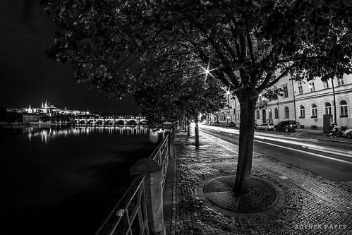 Prague night (8mm) by Zdenek Papes