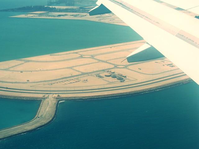 Landing in Bahrain