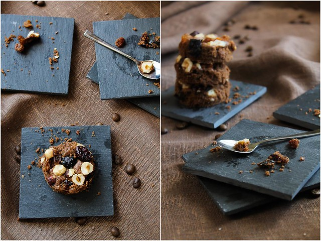 Brownie with Dried Fruits and Hazelnuts