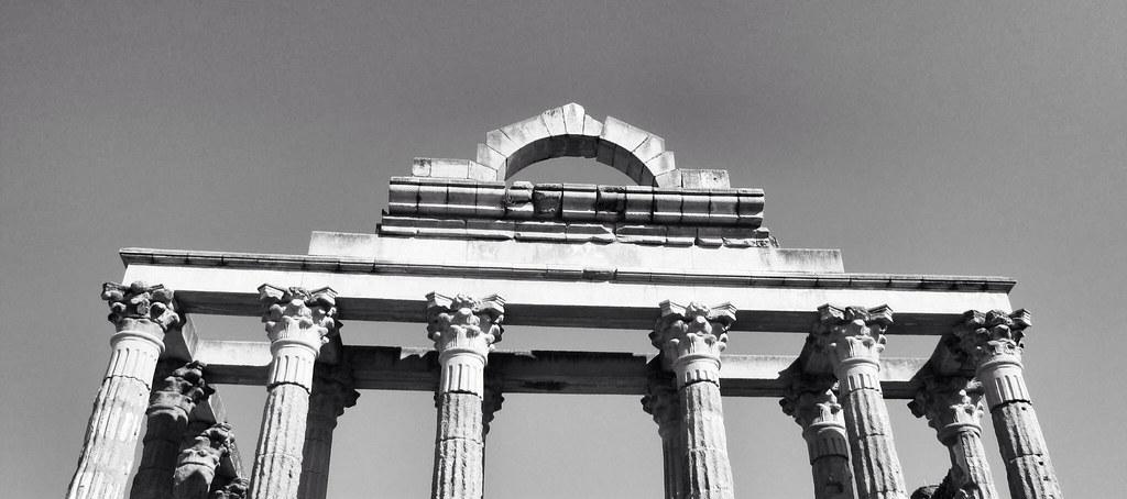Templo de Diana_restauración