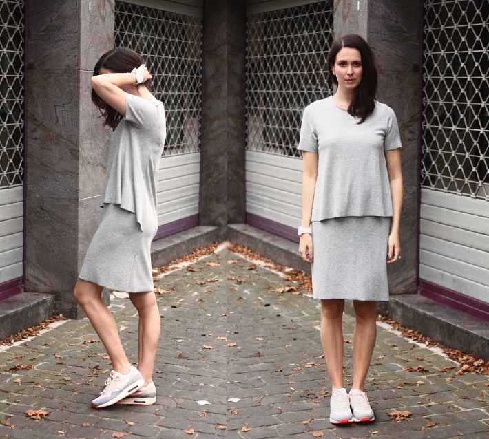 COS Dress and Nike Air Max - THE