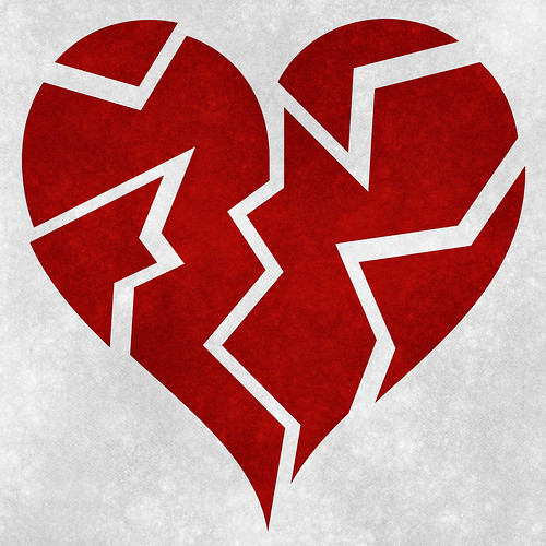Broken Heart Grunge