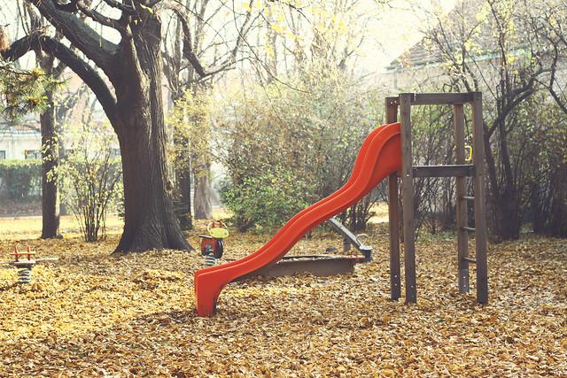 fall slide