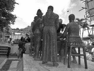 Bohol - Blood Compact statue