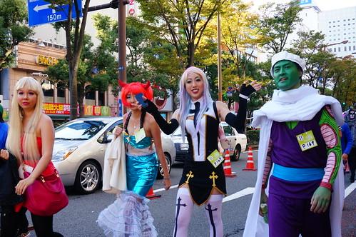 Kawasaki Halloween Parade 2013 24