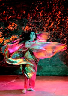 Dancer in colors
