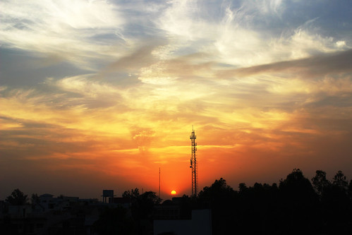 sunset nature night cloudy calm silence enigmatic sirsyednagaraligarh