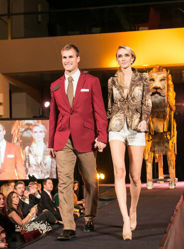 Washington Redskin Kirk Cousins with professional model. Photo by: Naiffer Romero