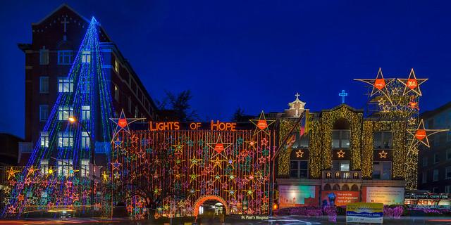 St Paul's Lights of Hope 2013