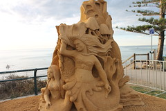 carving, art, chainsaw carving, sand, temple, wood, sculpture, stone carving, statue,