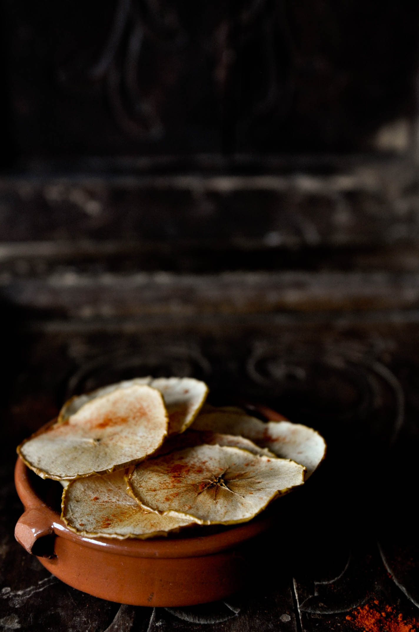 Smoky Apple Chips