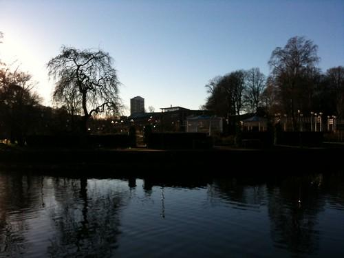 sweden stadsparken borås viskan