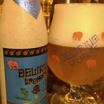 ベルギービール大好き!! デリリウム・トレメンス Delirium Tremens(きんき) @世界のBeer博物館横浜