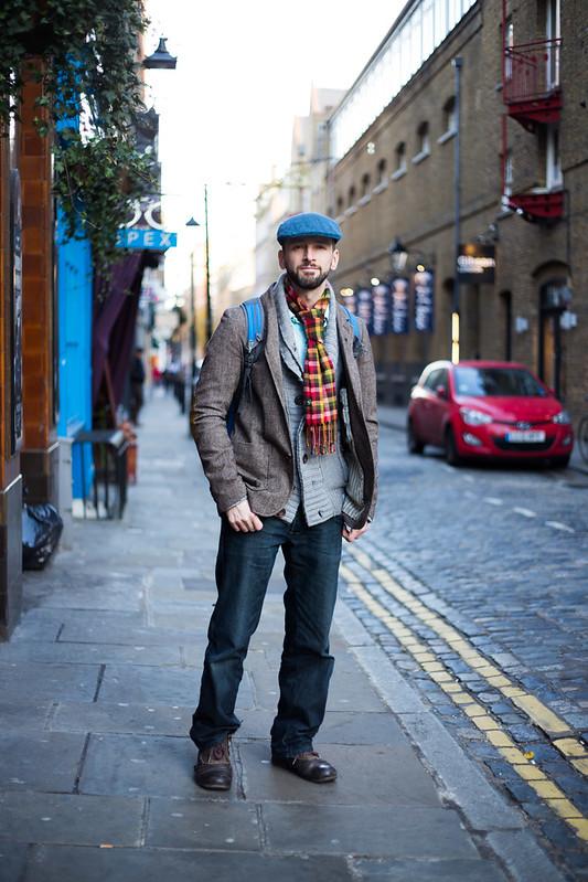 Street Style - Aaron, Seven Dials