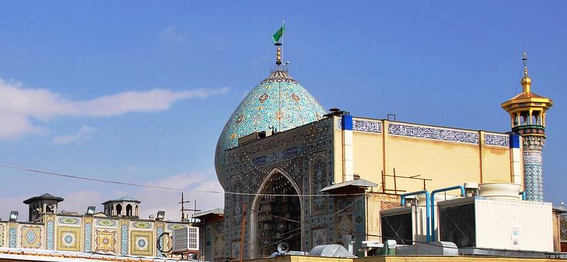 65 mezquita de Sayyed Mir-Ahmad en Shiraz (1)