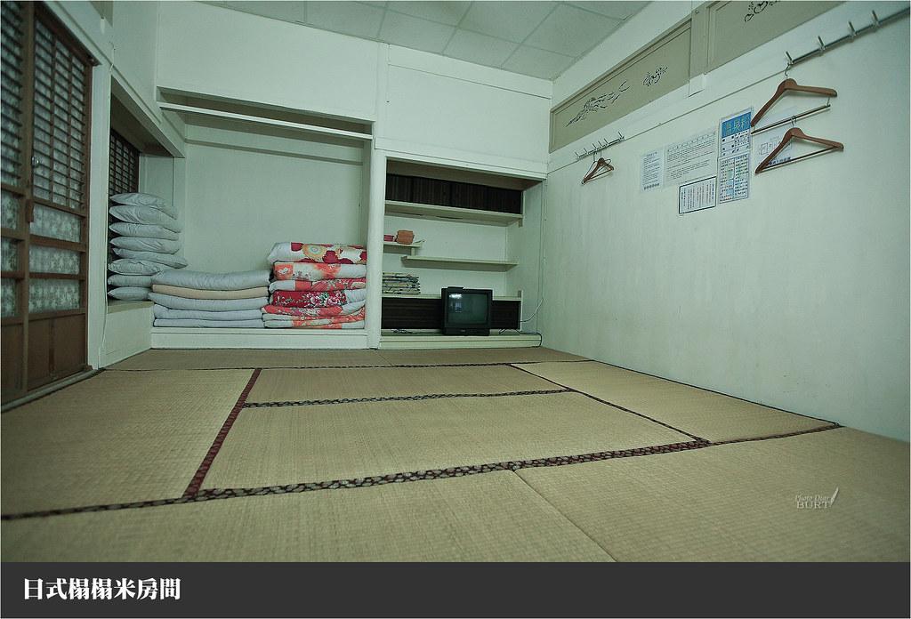 日式榻榻米房間