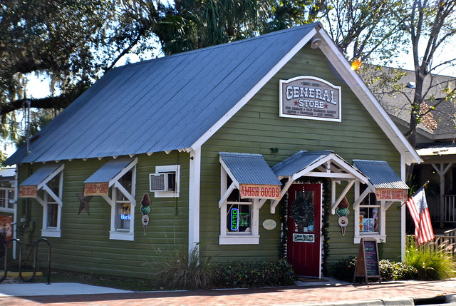 General Store in Heritage Village, Crystal River, Florida