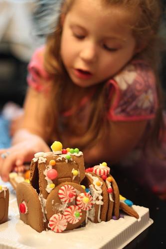 Making a Gingerbread Train