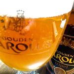 ベルギービール大好き!! グーデンカロルス・トリプルGouden Carolus Tripel with TOISON D`OR TRIPLE GLASS