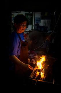 photography- food- satay in penang, malaysia