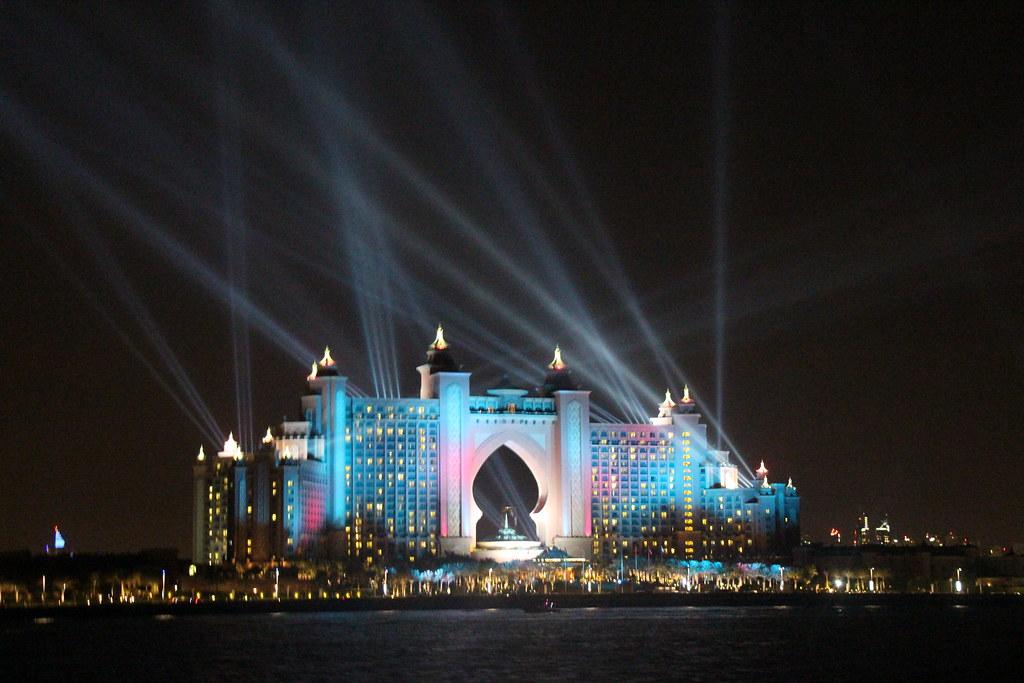 Dubai, fireworks, NYE, atlantis hotel, travel