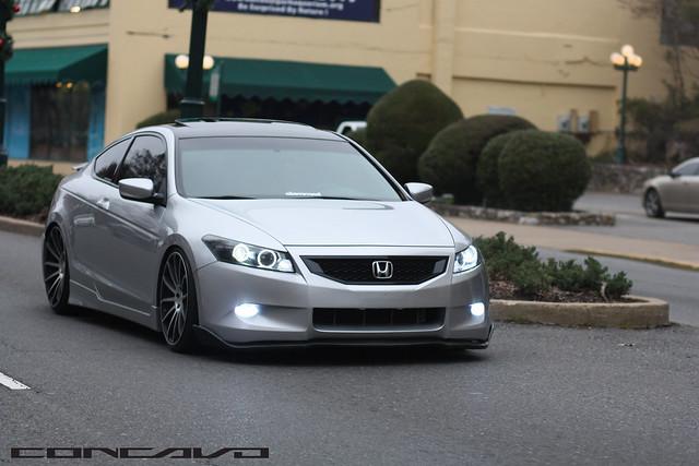 Honda Accord Coupe >> Honda Accord Coupe | CW-12 | Matte Black Machined Face ...