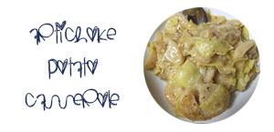 artichoke potato casserole