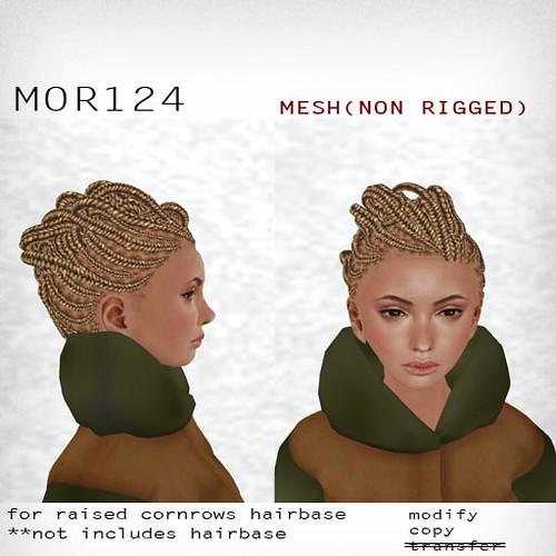 booN MOR124 hair