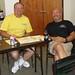 My best friend Dave Kelly  and I at a fireworks meeting in Texas for Extreme Pyro.