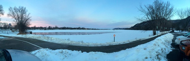 Lake Winona panorama
