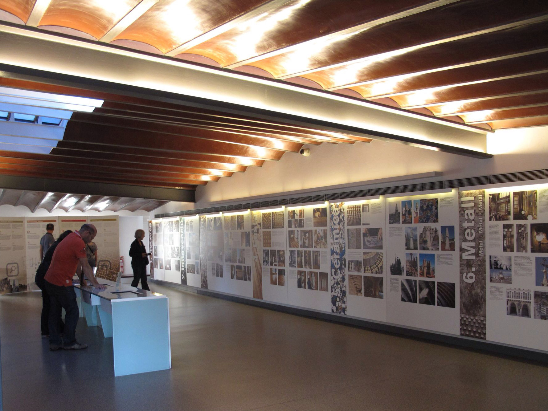 Palau güell_exposicion restauracion_antonio gonzalez _BbCR