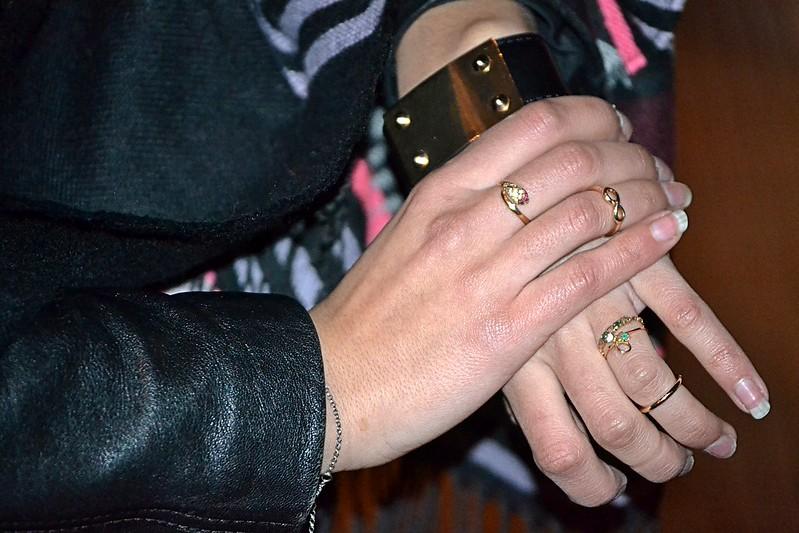 anillos joyería y Primark