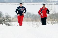 Na sněhu a náledí upravte techniku běhu a volte vhodnou obuv