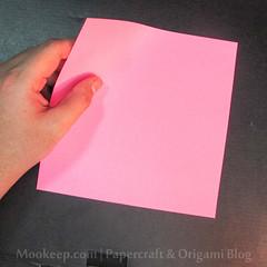 สอนวิธีการพับกระดาษเป็นรูปเป็ด (Origami Duck) - 001.jpg