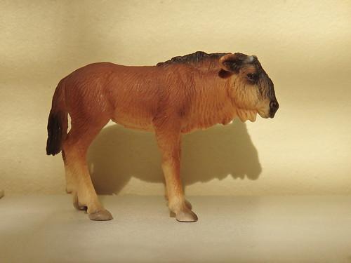 Schleich wildebeest gnu calf