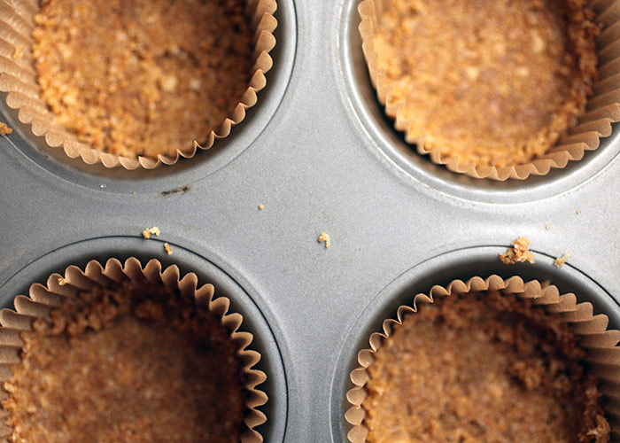 Graham Cracker Crumb Cupcake Crust