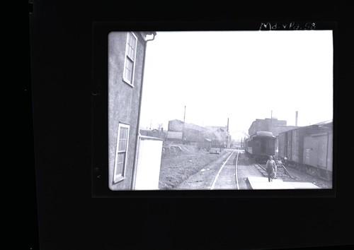 York station platform