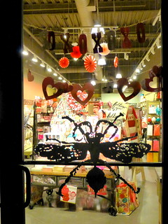 Valentine Window Shopping