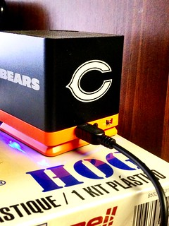 chicago bears speaker