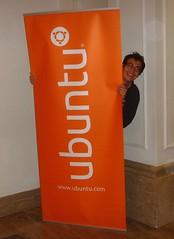 Me, behind Ubuntu