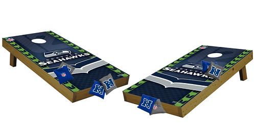 Seattle Seahawks Premium Cornhole Boards